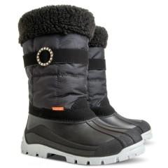 Детские зимние сапоги ANETTE-M (C) черные