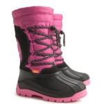 Детские зимние сапоги SAMANTA (A) розово-черные