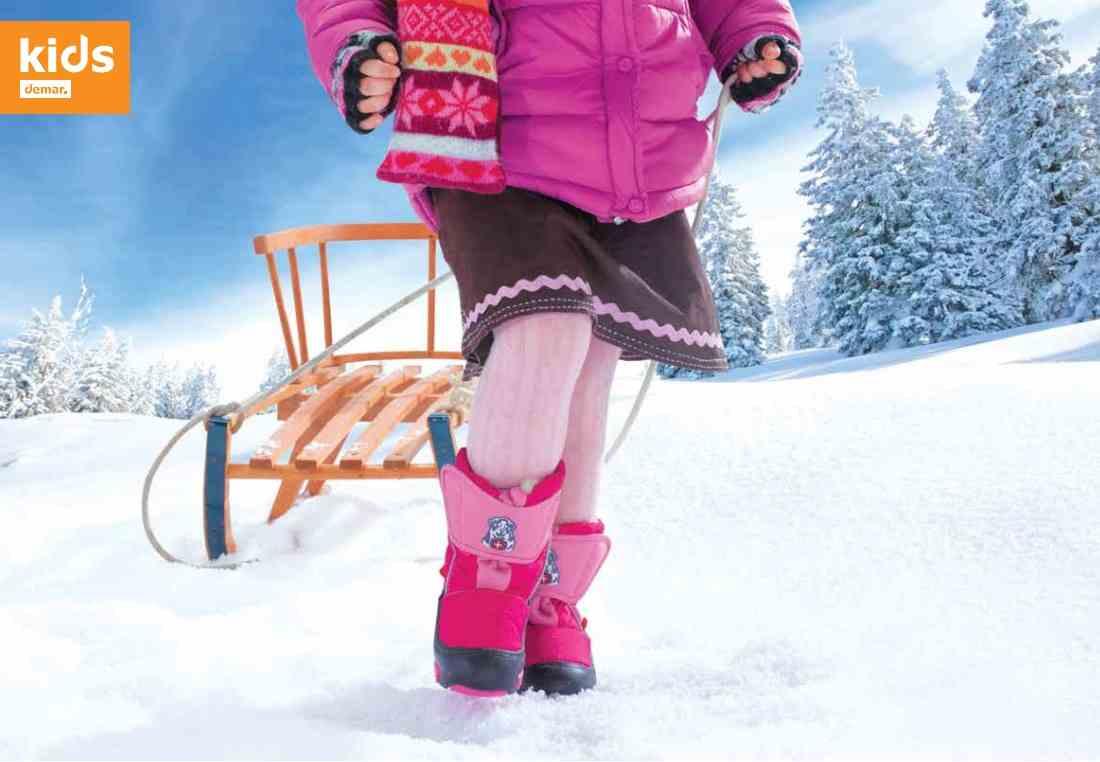 детская зимняя обувь демар
